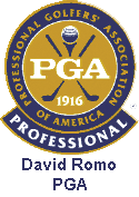 Recommended by PGA Golf Professional